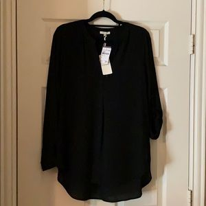 Black Pleione Blouse
